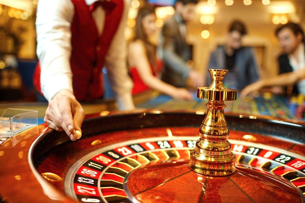 among casino